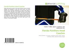 Bookcover of Florida Panthers Head Coaches