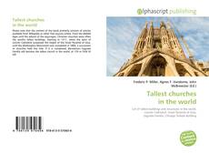 Bookcover of Tallest churches in the world