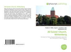 Bookcover of All Saints' Church, Wittenberg