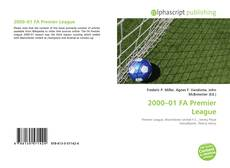 Bookcover of 2000–01 FA Premier League