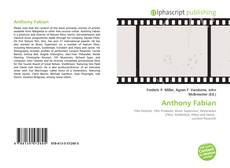 Bookcover of Anthony Fabian