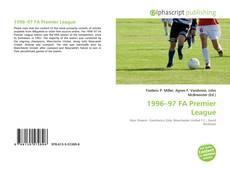 Bookcover of 1996–97 FA Premier League