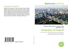 Copertina di Geography of England