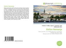 Portada del libro de Stefan Nemanja