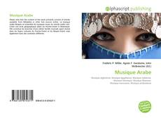 Bookcover of Musique Arabe