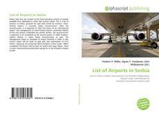 Capa do livro de List of Airports in Serbia