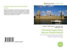 Bookcover of Financial Supervisory Service (South Korea)