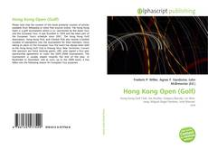 Hong Kong Open (Golf)的封面