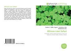 Couverture de African Lion Safari