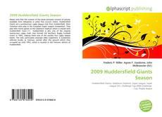 Bookcover of 2009 Huddersfield Giants Season