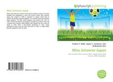 Bookcover of Miss Universe Japan