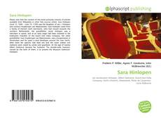 Bookcover of Sara Hinlopen