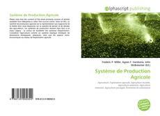 Borítókép a  Système de Production Agricole - hoz