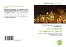 Capa do livro de Gouvernements Minoritaires au Canada