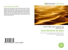 Gran Desierto de Altar的封面