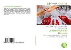 Portada del libro de Conservation des Aliments