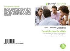 Bookcover of Constellation Familiale