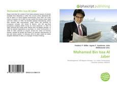 Buchcover von Mohamed Bin Issa Al Jaber