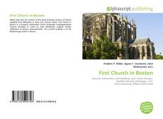 Обложка First Church in Boston