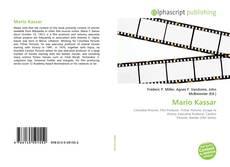 Portada del libro de Mario Kassar