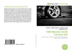 1968 Western North Carolina 500的封面