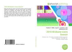 Copertina di 2010 Brisbane Lions Season