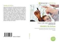 Bookcover of Modèle de Solow
