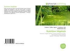 Copertina di Nutrition Végétale