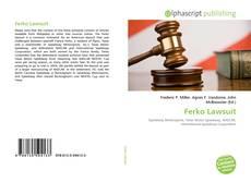 Couverture de Ferko Lawsuit