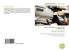 Xavier Gallais kitap kapağı