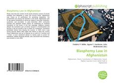 Bookcover of Blasphemy Law in Afghanistan