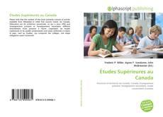 Couverture de Études Supérieures au Canada