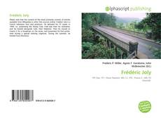 Portada del libro de Frédéric Joly