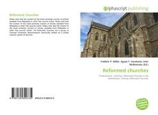 Capa do livro de Reformed churches