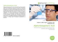 Bookcover of Alpha-Ketoglutaric Acid