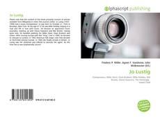 Обложка Jo Lustig
