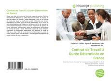 Обложка Contrat de Travail à Durée Déterminée en France