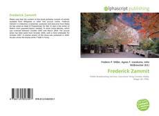 Bookcover of Frederick Zammit