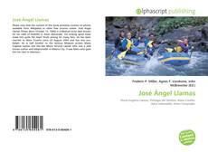 Bookcover of José Ángel Llamas