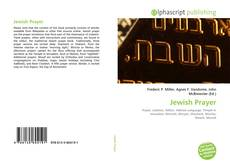 Обложка Jewish Prayer