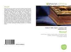 Bookcover of Mussaf