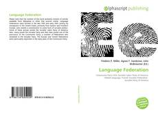 Bookcover of Language Federation