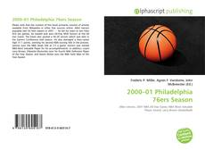 Bookcover of 2000–01 Philadelphia 76ers Season