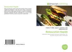 Bookcover of Restauration Rapide