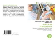 Couverture de Histoire de l'Électrochimie