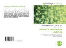 Portada del libro de Monte Carlo Molecular Modeling