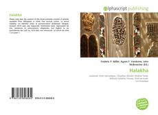 Bookcover of Halakha