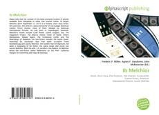 Capa do livro de Ib Melchior