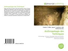 Bookcover of Anthropologie des Techniques