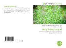 Bookcover of Maquis (Botanique)